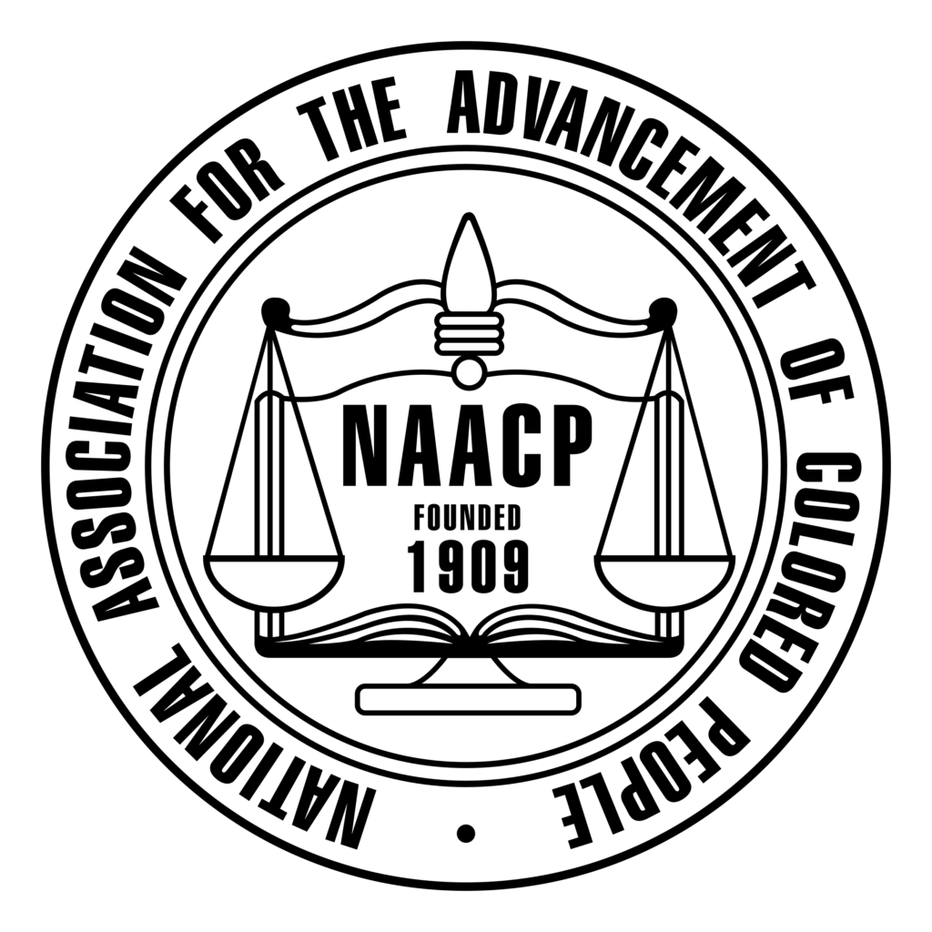 This image has an empty alt attribute; its file name is naacp-logo-png-transparent-1024x1024.png
